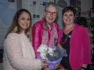 Chrissy Mattiazzi, Anne Lindsay and Edith Boccari