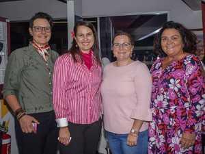 Gloria Pestrin, Trish Cook, Belinda Hill and Nic