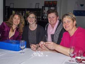 Sarah Hume, Charlotte Battle, Christine Hood and