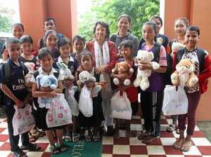 Generosity helping kids in Cambodia