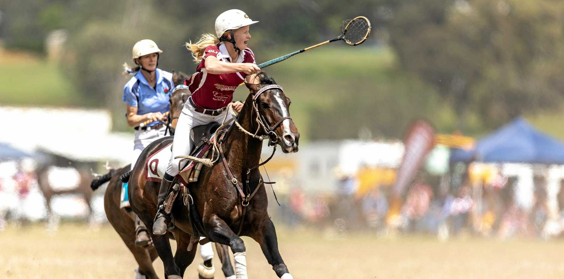 WORLD CUP BOUND: Beth Hafey competing for Queensland at the national championships.