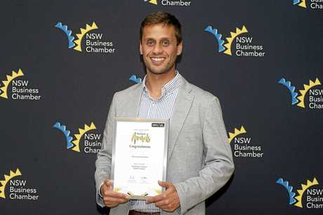 Hemp Foods Australia General Manager Felipe Favaro was awarded the Excellence in Export Award at the NSW Business Chamber Business Awards Northern Rivers.