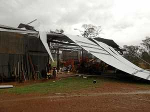 Nightmare Gympie storm not an official disaster yet