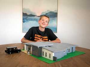 Young LEGO architect creates display home competition