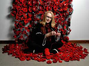 Poppy making event in full bloom ahead of Armistice