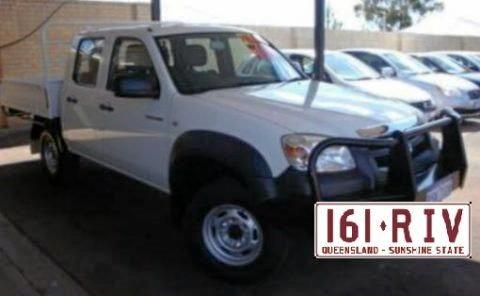 Matthew Golder left Valley Street in his vehicle, a Mazda BT50 utility with Queensland registration 161 RIV.