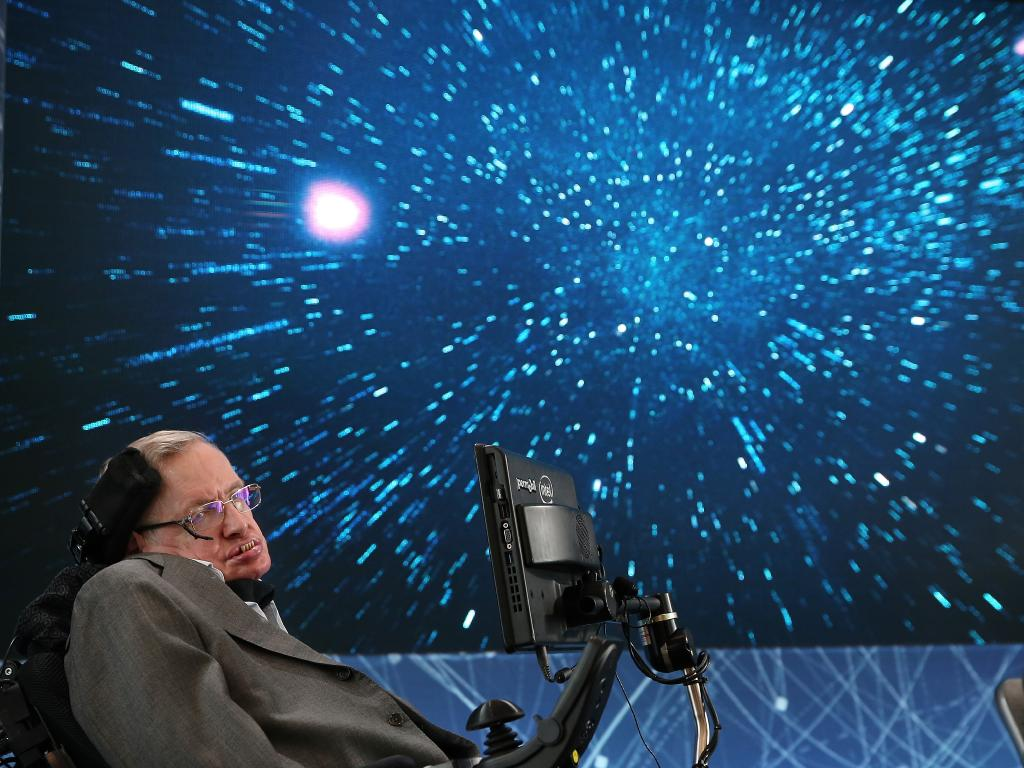 We have the technology. But do we have the wisdom? Professor Stephen Hawking feared the implications of AI and artificially-enhanced humans. Picture: Getty