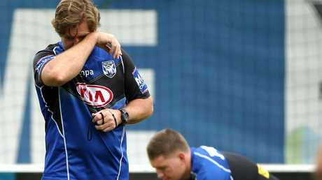 The Dogs couldn't wat for Hasler's strategy to pay off. (Stephen Cooper)