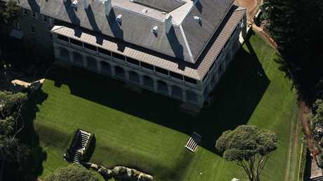 It boasts sprawling green lawns. Picture: Cameron Spencer/Getty Images