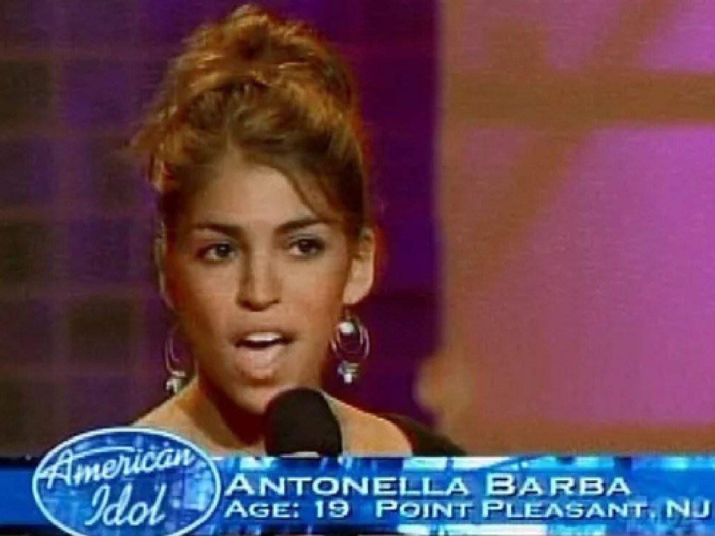 Antonella Barba on season six of American Idol. Picture: Supplied