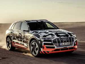 Gruelling desert test for Audi's new E-Tron electric vehicle
