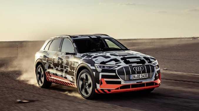 Audi E-Tron electric-car. Picture: Supplied.