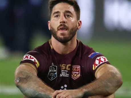 Ben Hunt after the Maroons' State of Origin Game 2 loss.