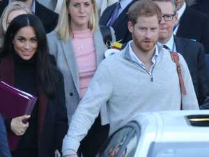 Harry and Meghan arrive in Sydney