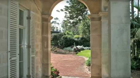 The sandstone building is also designed with a number of elegant arches. Picture: OOSGG