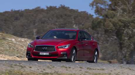 The Q50 is considerably cheaper than its rivals.