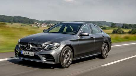 Mercedes-Benz C-Class: Best selling luxury car in the country.