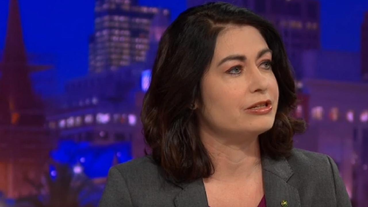 Queensland Labor MP Terri Butler on the ABC's Q&A panel.