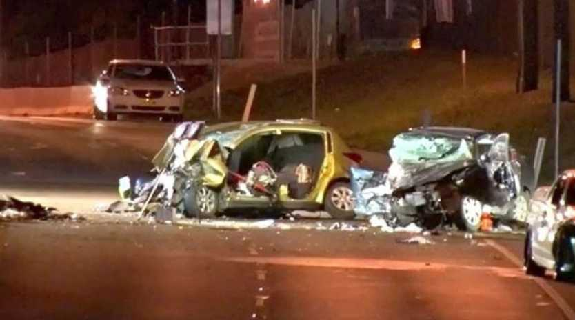Pregnant woman dies in hospital after tragic Charlestown Pacific Highway crash. Source: 9News