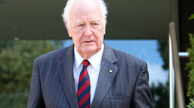 Peter Hollingworth was called to give evidence at the Royal Commission Into Institutional Responses To Child Sexual Abuse. Picture: Nikki Davis-Jones
