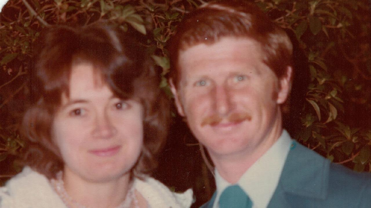 Roxlyn Bowie with her husband John. Roxlyn went missing from her home in Walgett in northern New South Wales in 1982. John now lives in Toowoomba. Picture: Supplied