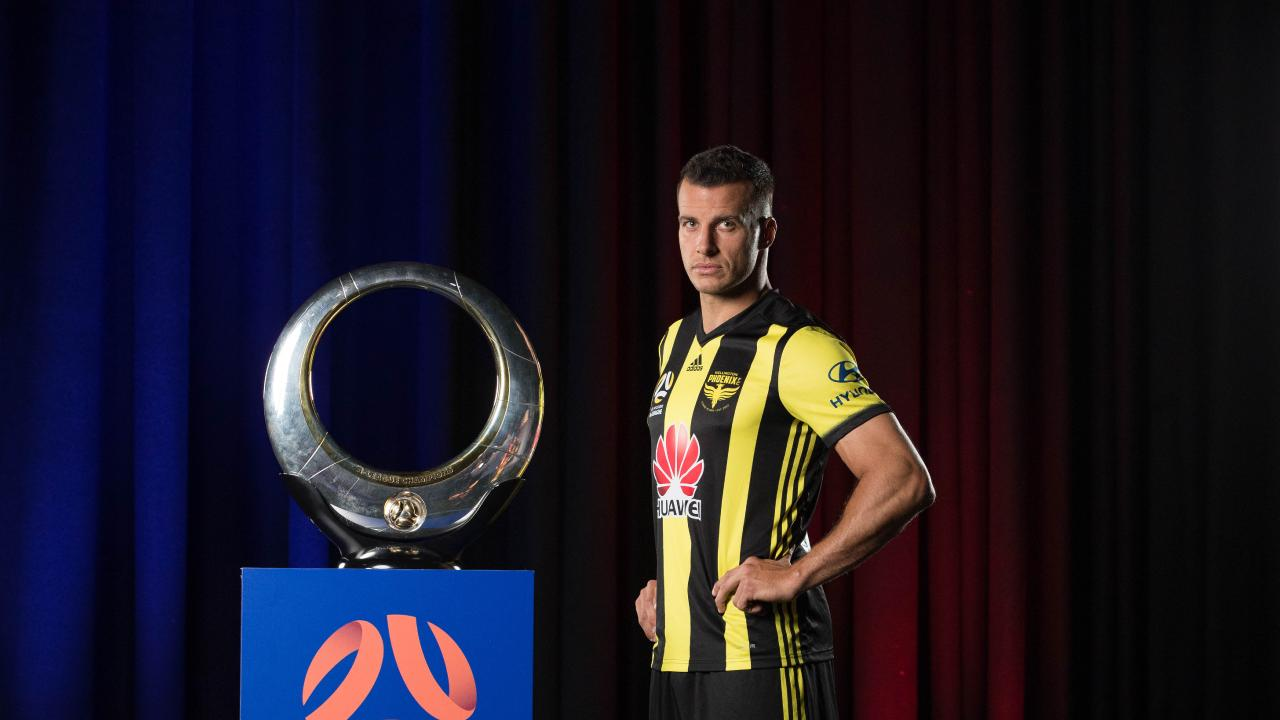 Former Premier League defender Steven Taylor is the Wellington Phoenix's headline recruit