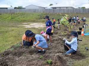 Year 4 and 5 students at Mackay Christian College are