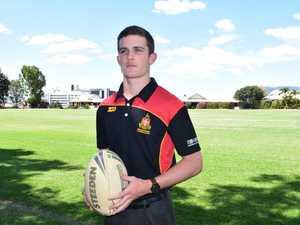 Rockhampton Grammar School student Aaron Moore has