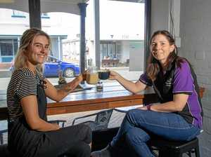 New owners serve up community coffee