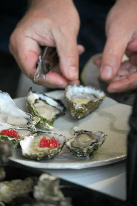 YUM: The Appellation Oysters Chefs' Oyster Masterclass on October 8 gave attendees the opportunity to learn about oysters, and to sample some of the country's best produce.