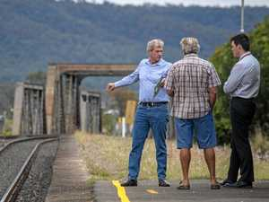 Inland Rail question time rejected at community meeting