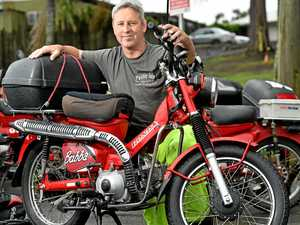 50 riders to cover 1900km on postie bikes for charity