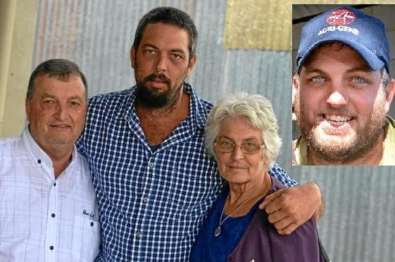 Garry and Debbie Josefski (pictured with son Luke Josefski) believe the penalty should have been harsher for the man that killed their son Jeremy Josefski (pictured right) in a crash three years ago.