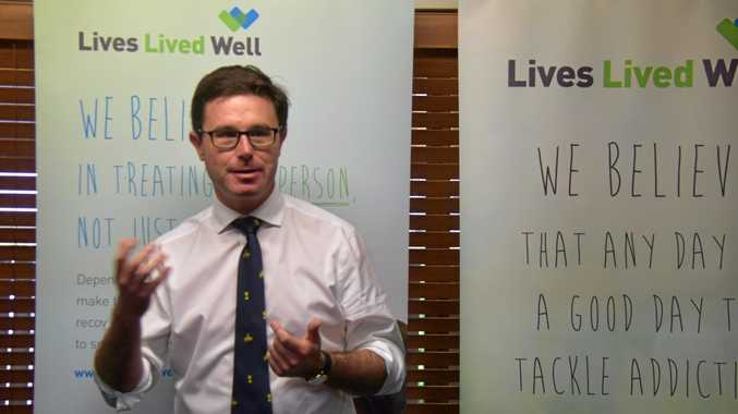 'Clearly more support was needed': David Littleporud MP at the Lives Lived Well event in Kingaroy.