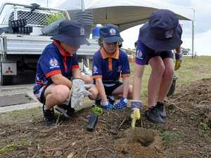 Mackay students pitch in to help protect Great Barrier Reef