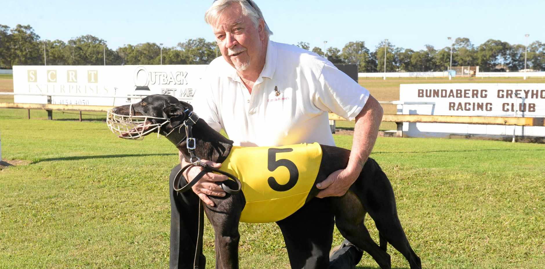 Stephen Bland appealed after the council voted against a proposed greyhound kennel expansion. (File photo)