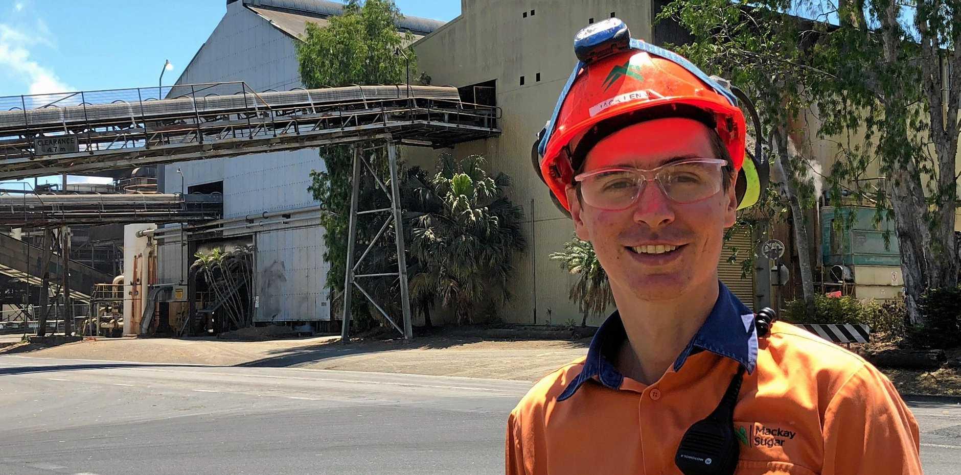 Production superintendent at Mackay Sugar's Marian Mill Jack Lennon.