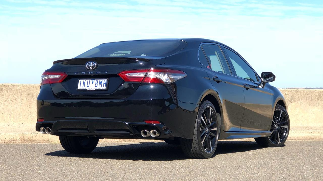 The Camry is let down by its driving dynamics. Picture: Joshua Dowling.
