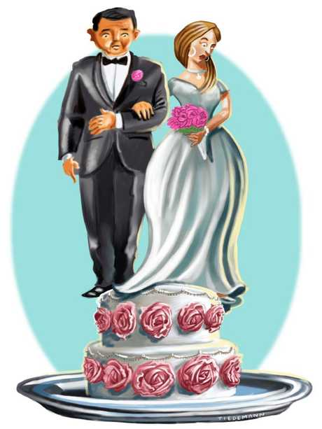 Wedding finances don't have to be stressful. Artwork: John Tiedemann
