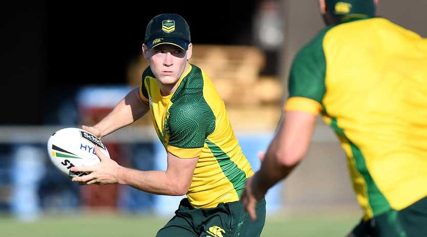 Luke Keary will need to pass a concussion test in order to face Tonga. Picture: AAP
