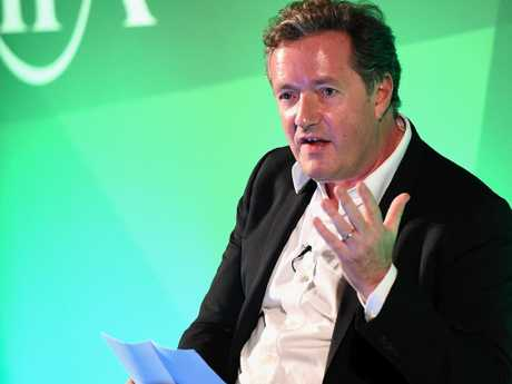 Piers Morgan was formerly editor of British tabloids News Of The World and the Daily Mirror. Picture: Eamonn M. McCormack/Getty Images for Advertising Week Europe