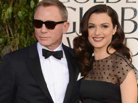 Sexiest man alive Daniel Craig and his equally beautiful and talented wife Rachel Weisz. Picture: Jason Merritt