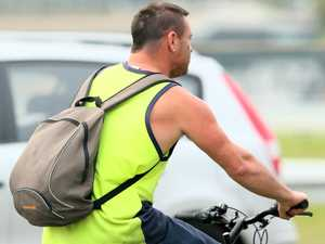 Cyclist cops $400 fine for talking on phone