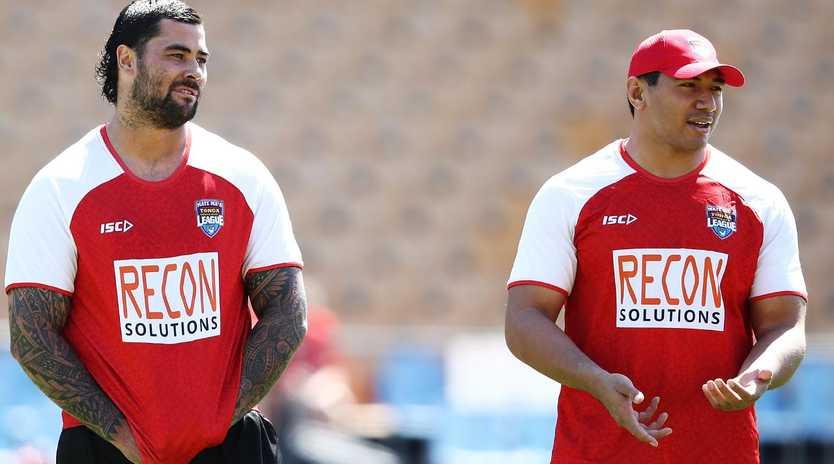 Andrew Fifita and Jason Taumalolo headline a strong Tongan team.