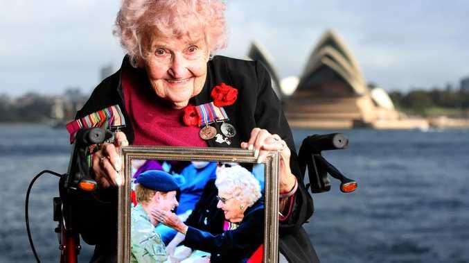 Aussie war widow wants another kiss from Harry