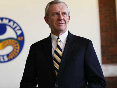 Portrait of Parramatta Eels CEO Bernie Gurr at the Eels Football Club offices. Picture. Phil Hillyard