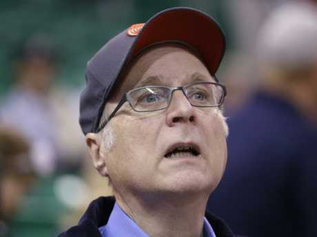 Paul Allen owned the NBA team Portland Trailblazers. Picture: AP