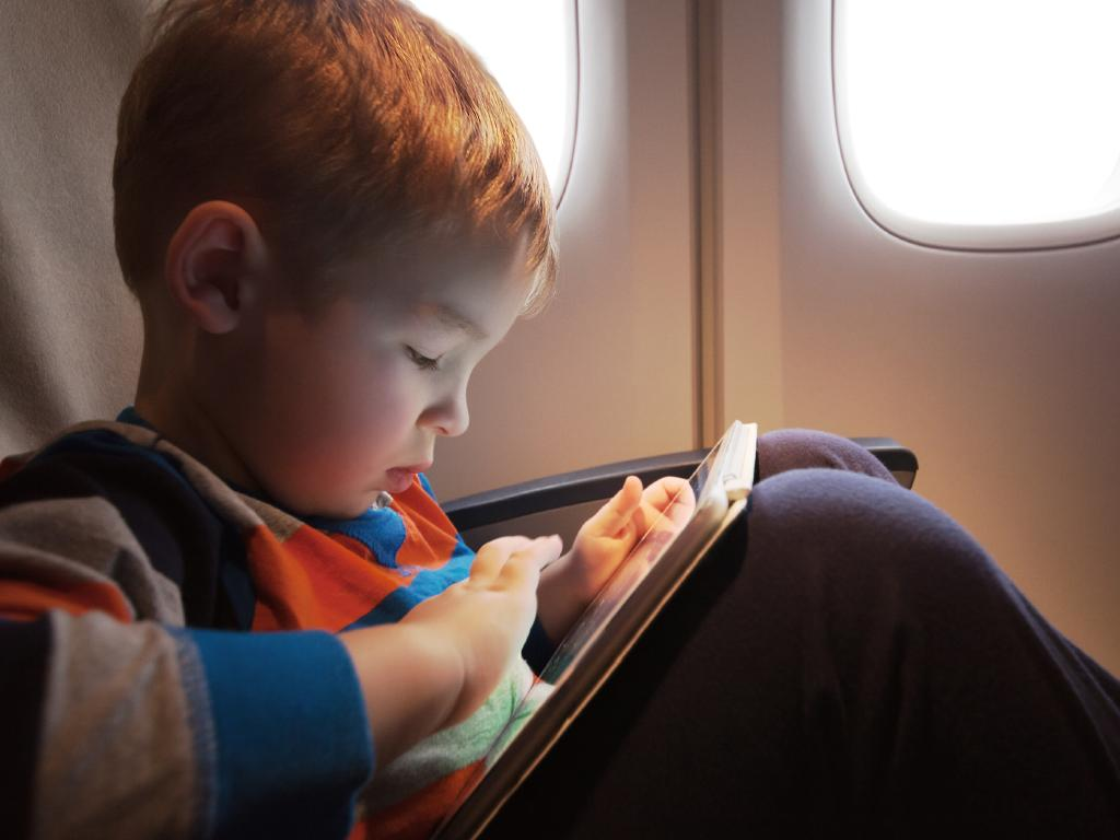 Don't risk an entertainment meltdown — bring the iPad loaded with things your kid loves.