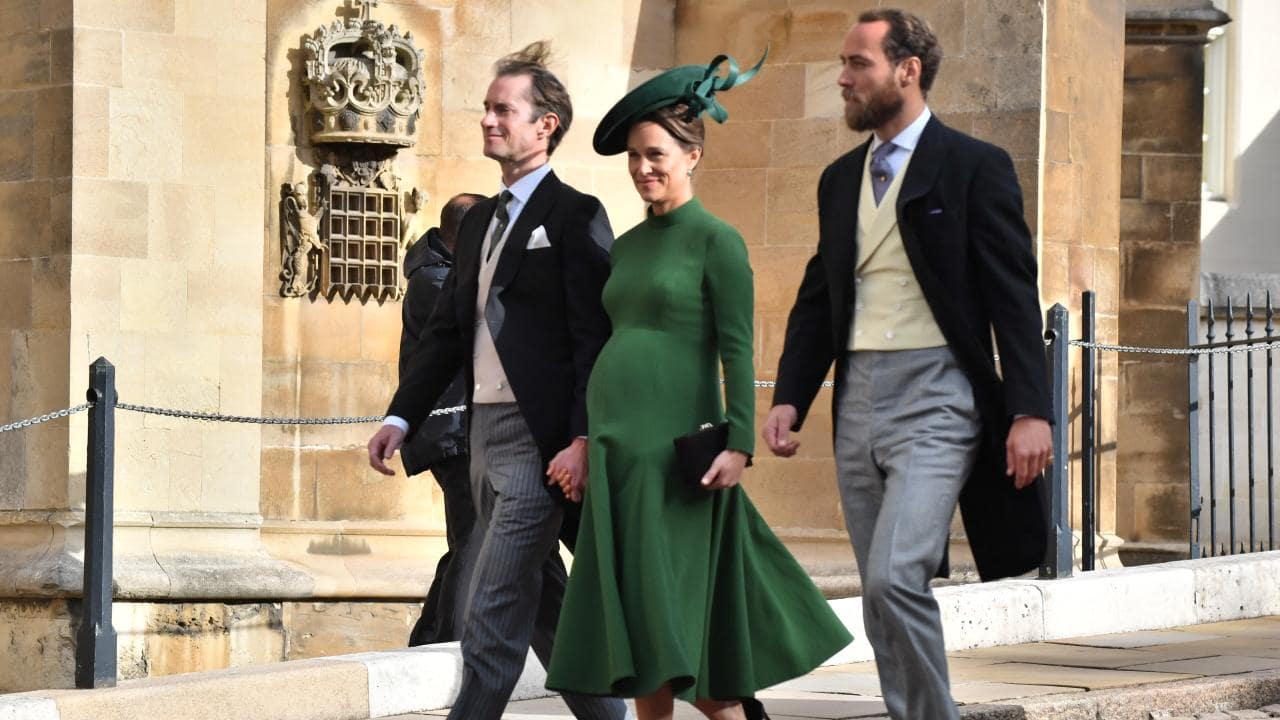 Heavily-pregnant Pippa Middleton has spotted arriving at the Lindo Wing maternity unit, just days after the royal wedding.