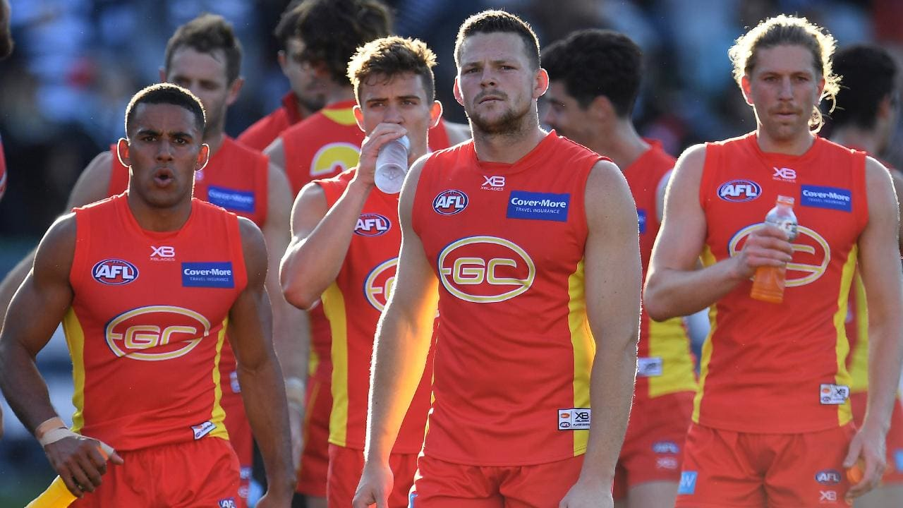 Gold Coast won just four games in 2018. Photo: Julian Smith/AAP Image.